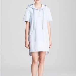 Marc Jacobs Hooded Denim Dress